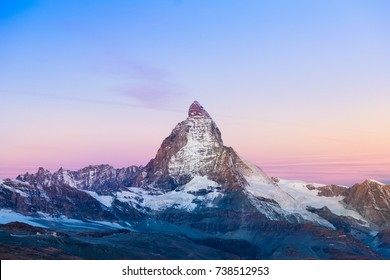 Matterhorn Zermatt Switzerland Sunrise