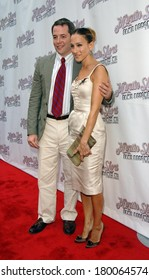 Matthew Broderick, Sarah Jessica Parker at Opening Night of MARTIN SHORT FAME BECOMES ME, Bernard B Jacobs Theatre, New York, NY, August 17, 2006