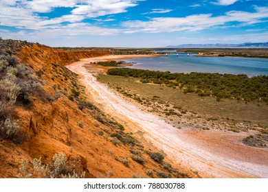 Matthew Flinders Red Cliff Lookout in Port Augusta, South Australia