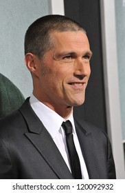 """Matthew Fox at the Los Angeles premiere of his movie """"Alex Cross"""" at the Cinerama Dome, Hollywood. October 15, 2012  Los Angeles, CA Picture: Paul Smith"""