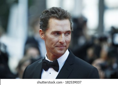 Matthew McConaughey attends 'Mud' Premiere at Palais des Festivals on May 26, 2012 in Cannes, France.