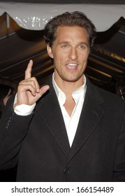 Matthew McConaughey at FAILURE TO LAUNCH Premiere, Clearview Chelsea West Cinemas, New York, NY, Wednesday, March 08, 2006