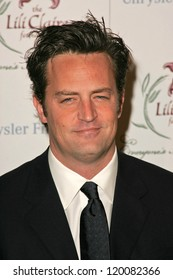 Matthew Perry at the 9th Annual Benefit for the Lili Claire Foundation. Beverly Hilton Hotel, Beverly Hills, CA. 10-14-06