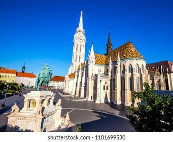 Matthias Church in Budapest, Hungary