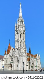 Matthias Church in Buda's Castle District of Budapest, Hungary