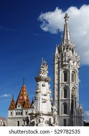 Matthias Church in the Castle District of Budapest 