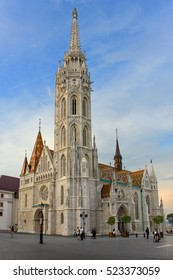 Matthias Church, Roman Catholic church located in Budapest, Hungary, in front of the Fisherman's Bastion