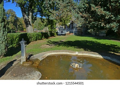 Mattoni mineral water spring, Kyselka, Czech Republic