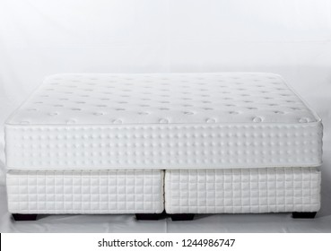 Mattress isolated on white background