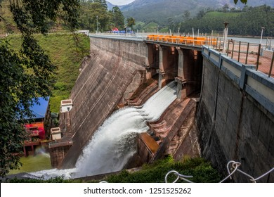 Mattupetty Dam near Munnar in Idukki District, Kerala, India