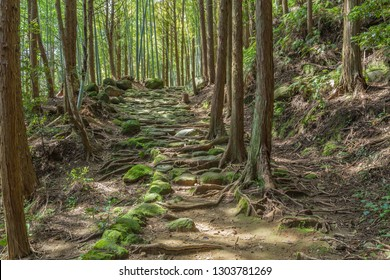 Matumoto Pass in Kumano Ancient Road, Mie prefecture, Japan