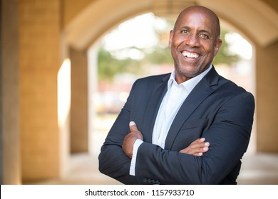Mature African American Businessman