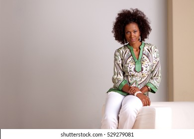 Mature African American Woman.