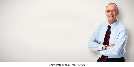 Mature businessman.