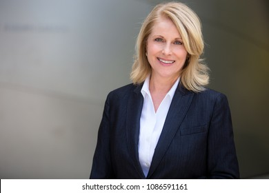 Mature female career professional, possibly business, accountant, attorney, corporate CEO