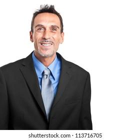 Mature manager portrait