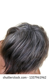Mature Woman with a Modern Hairstyle