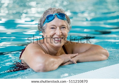 Excited wet mature woman