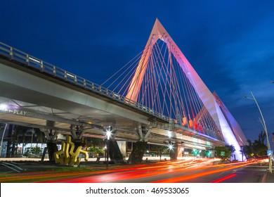 Matute Remus bridge in Guadalajara, Jalisco. Mexico