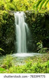 Maui Hana Highway Waterfall