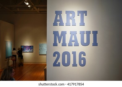 MAUI, HI -30 MARCH 2016- The Maui Arts and Cultural Center (MACC) is a gallery and performance space located in Kahului, on the island of Maui in Hawaii.