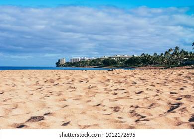 Maui Island Beach, Hawaii, Kaanapali Beach