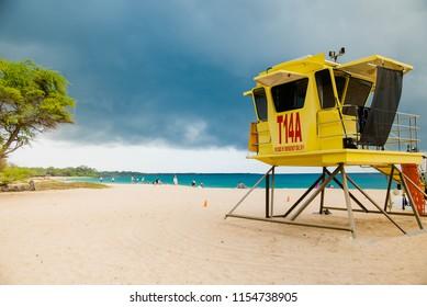 maui lifeguard tower