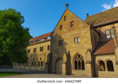 the Maulbronn Abbey, Germany, medieval Unesco World Heritage monument