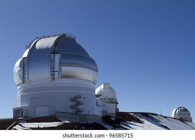 Mauna Kea Observatory on the Big Island of Hawaii.