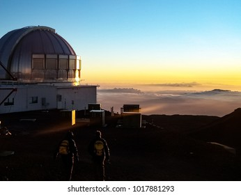 Mauna Kea Summit on the Big Island of Hawaii