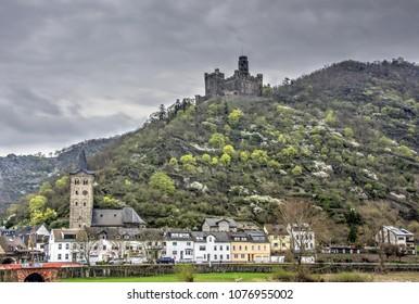 Maus Castle, Rhine River