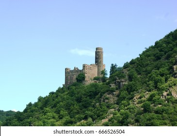 Maus Castle, River Rhine Germany