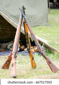 "The Mauser Karabiner 98 kurz ""carbine 98 short"", often abbreviated Kar98k or K98k is a bolt-action rifle chambered for the 7.92×57mm Mauser cartridge."