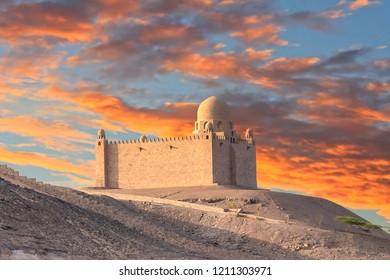 The Mausoleum of Aga Khan, Aswan, Egypt