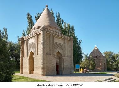 Mausoleum Aisha-Bibi. A Silk Way Kazakhstan.