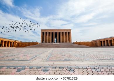 Mausoleum of Ataturk, Ankara Turkey