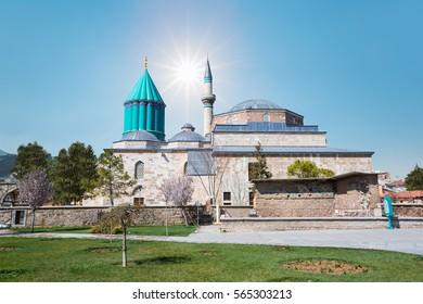 Mausoleum of Mevlana - Konya, Turkey.