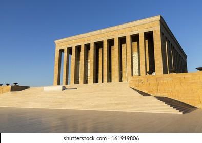 Mausoleum of Mustafa Kemal Ataturk, Ankara Turkey