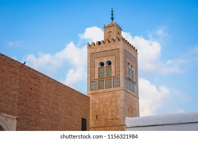The Mausoleum of Sidi Sahab, commonly known as the Mosque of the Barber in Kairouan ancient city in Tunisia
