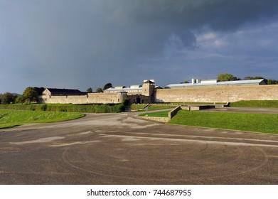 MAUTHAUSEN, AUSTRIA - SEPTEMBER 20: WW2 Concentration camp Mauthausen, on September 20 2017 in Mauthausen, Austria
