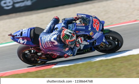 Maverick Vinales during MotoGP Motul TT Assen race in TT Circuit Assen (Assen - Netherlands) on June 29 2018