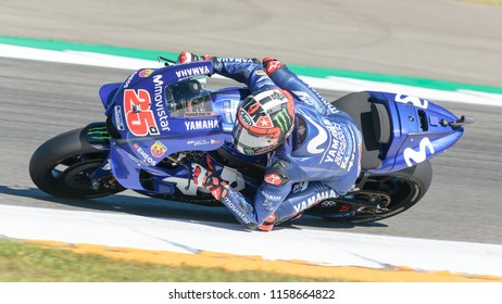 Maverick Vinales during MotoGP Motul TT Assen race in TT Circuit Assen (Assen - Netherlands) on June 30 2018
