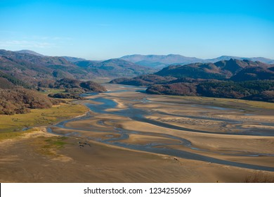 Mawddach Estuary, Snowdonia National Park, North Wales, UK