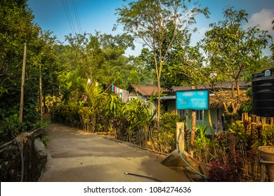 Mawlynnong, the cleanest village in Asia, Meghalaya, India