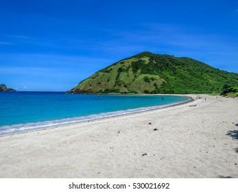 Mawun Beach Kuta Lombok Indonesia