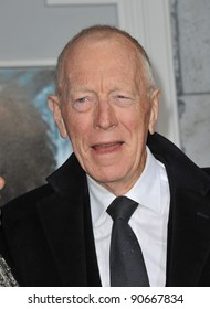 """Max von Sydow at the Los Angeles premiere of """"Sherlock Holmes: A Game of Shadows"""" at the Village Theatre, Westwood. December 6, 2011  Los Angeles, CA Picture: Paul Smith / Featureflash"""