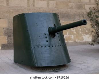 Maxim Norden Felt, 75mm. Q.F, made in england, Nineteenth century
