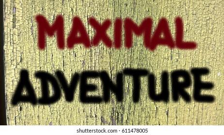 Maximal adventure Concept