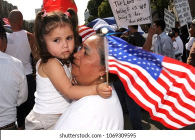 May 01, 2006; Los Angeles, CA, USA;  During  'A Day Without an Immigrant' , more than 500,000 people marched down Wilshire to protest a proposed federal crackdown on illegal immigration.