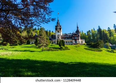 May 01 2018-Peles castle Sinaia Romania